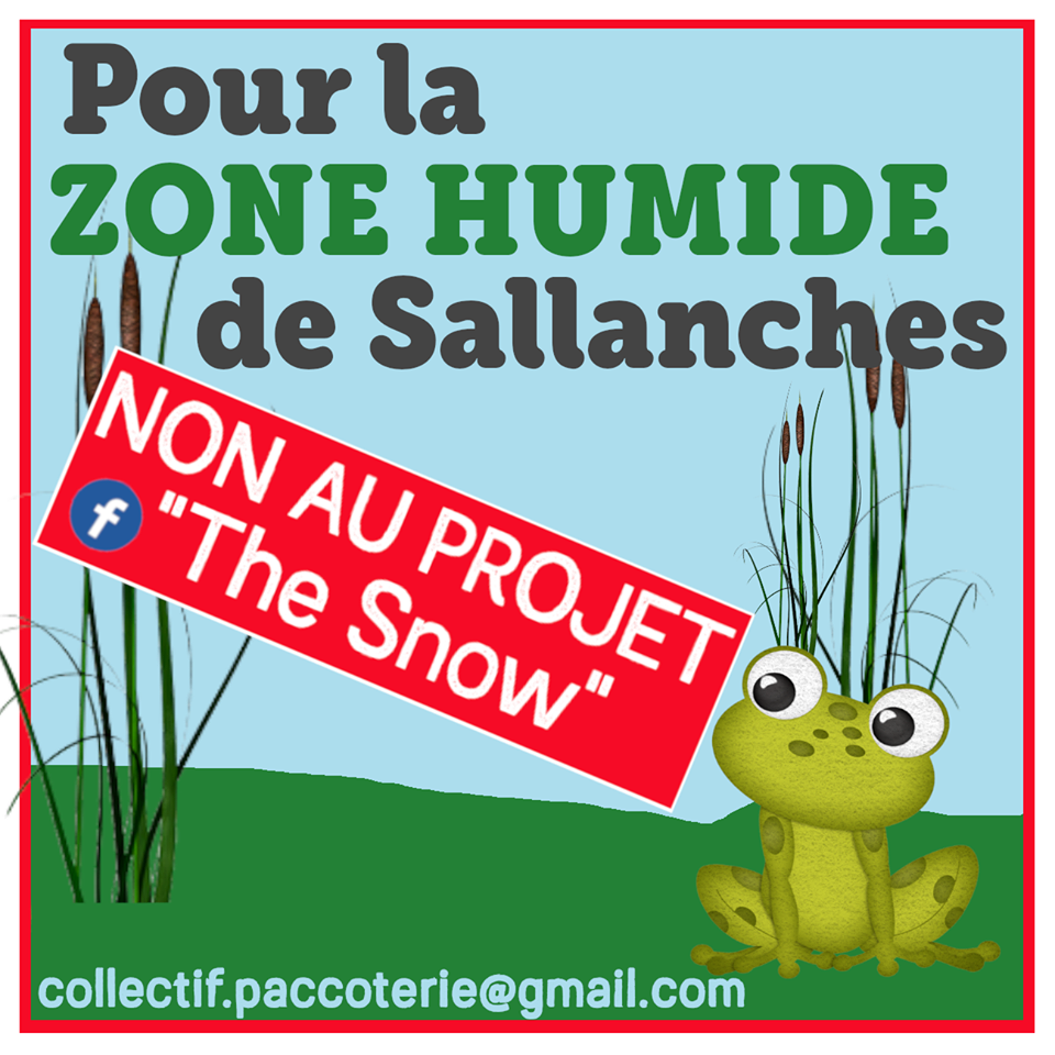 Pour la Zone Humide de Sallanches